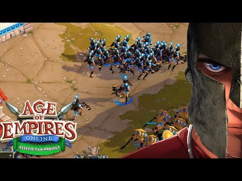 Age Of Empires Online Welcome In Cyprus Campain  | Let's Play Age Of Empires Online Gameplay