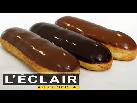 l'éclair-au-chocolat-(forme-parfaite-et-3-types-de-glaçage)