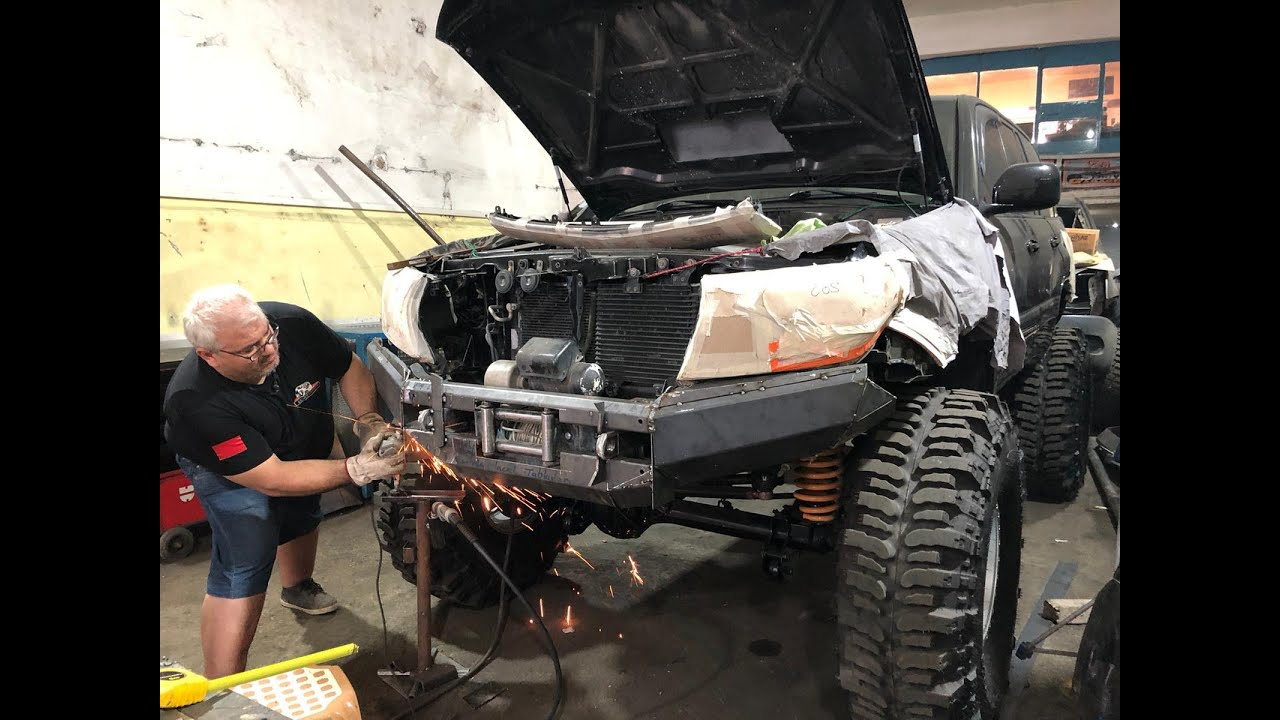 Off-Road land cruiser far yapımı bölüm 1//headlight making part 1