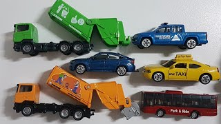 Siku Cars for Kids Unboxing Garbage truck bus Texi Cars Video for Kids