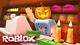 Roblox Halloween / Retail Tycoon / Opening a Halloween Store!