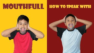 HOW TO SPEAK with a Mouthfull? Hilarious Game! (Zuru Mouthfull Unboxing)