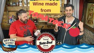 Wine Review: Those Tastebud Guys try OOVVDA Tornado Tomato Wine, a Springfield Missouri Winery. WOW!