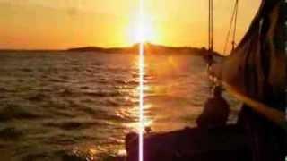 Séjour voilier sur la îles Anglo Normandes - Coup de vent !
