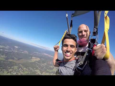 Tandem Skydive | Ahmed from Muscat, Ms