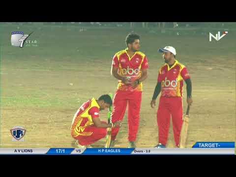 A V Lions VS H P Eagles   UJPL 2017   Mumbai