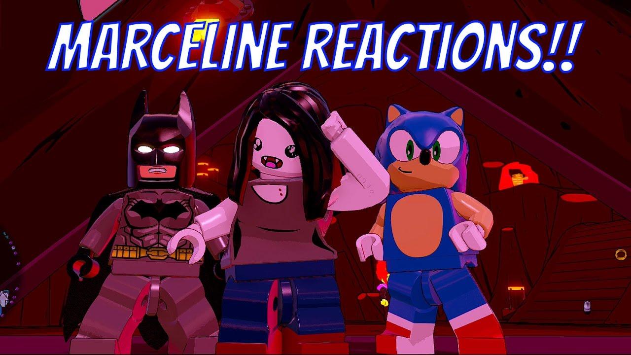 Download LEGO Dimensions Marceline the Vampire Queen Reactions #1 - Sonic, Batman, Kai, Dr  Who, Finn & More