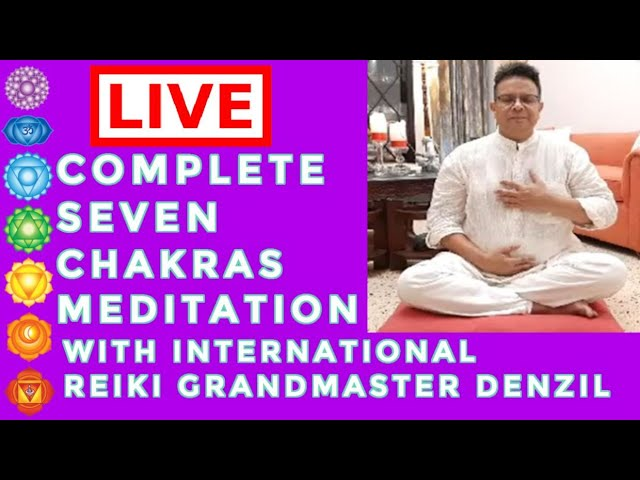 🆕step By Step Guided Chakra Meditation 🏻 Powerful Chakra Affirmations Top Video