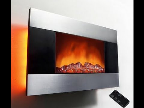 AKDY 36 inch Wall Mount Modern Space Heater Electric Fireplace ...