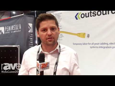 InfoComm 2016: Outsource Tells rAVe About Its Temporary Technicians for Integrators Service