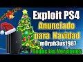 Exploit PS4 Anunciado para NAVIDAD   NOTICION   TODAS LAS VERSIONES