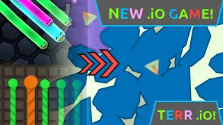 TERR.IO!!! -New .io Game 2016 Terr.io is Splix.io & Slither.io 2 in1!! More Fair than SLITHER.IO!