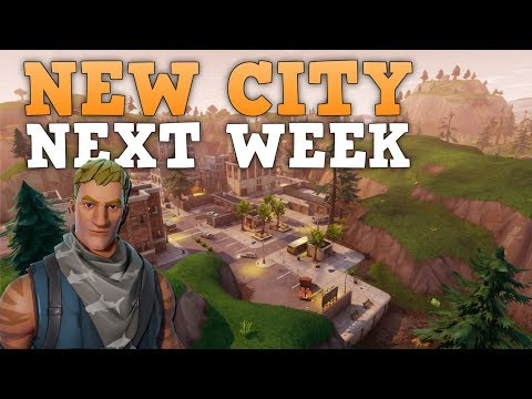 NEW FORTNITE CITY NEXT WEEK (PS4 Pro) Fortnite Battle Royale Livestream