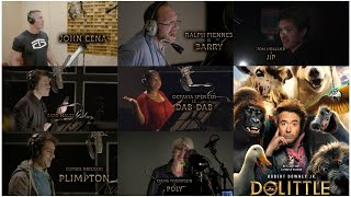DOLITTLE | Behind The Voices of the Animal Characters Thumb