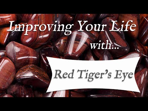 RED TIGER'S EYE 💎 TOP 4 Crystal Healing Benefits Of Red Tiger's Eye! | Stone Of Stimulation
