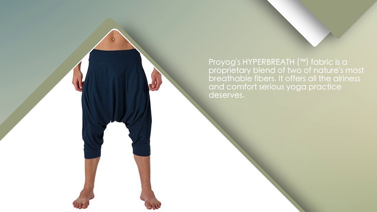 96318cbaef45d Proyog Men's Organic Yoga Dhoti Pants - YouTube