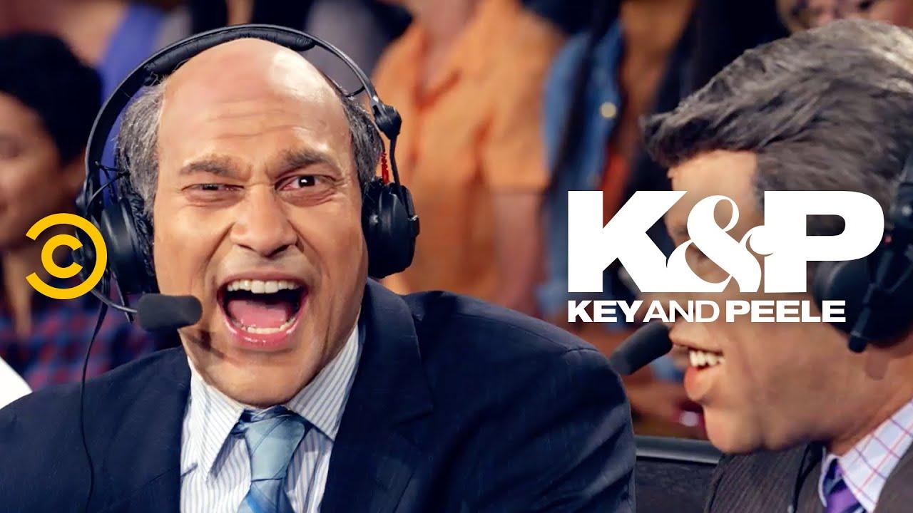 If Sports Commentators Had No Filter - Key & Peele