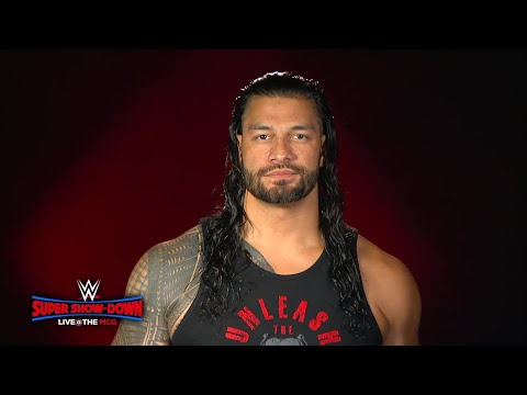 Roman Reigns will make Melbourne, Australia his yard at WWE Super Show-Down his yard