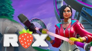 Rox - aka the LOSERFRUIT SKIN - and the Sky Style set in Fortnite!