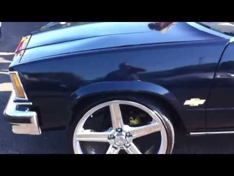 Chevy Malibu Wagon On 24s