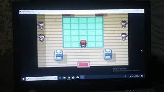 Pokémon Fire Red : Insignia do arco-íris coletada