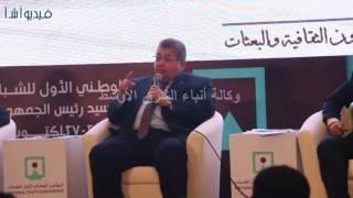 بالفيديو : ورشة للبحث العلمى بحضور وزير التعليم العالى بمؤتمر الشباب