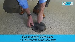 How to Clean Your Garage Drains