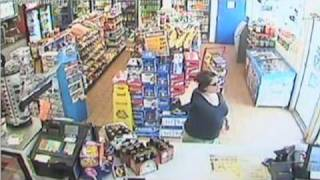 Surveillance Video: Diane Schuler at gas station before cras
