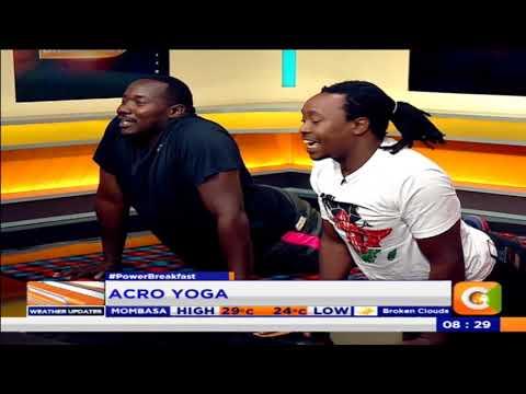 Acro Yoga [Part 1] #PowerBreakfast