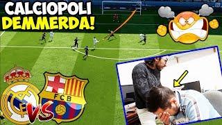 CALCIOPOLI DEMMERDAAA!!! Real Madrid-Barcellona | Ronaldo VS Messi [Fifa 18 ITA]