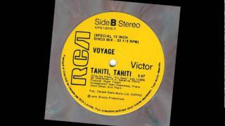 "Voyage "" Tahiti Tahiti "" ( Version Disco 12 Inch )"