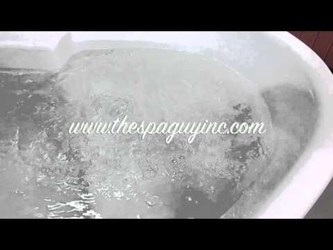 Used Keys Backyard Hot Tub Spa Triangle 115V Plug N Play Nashville The Spa Guy