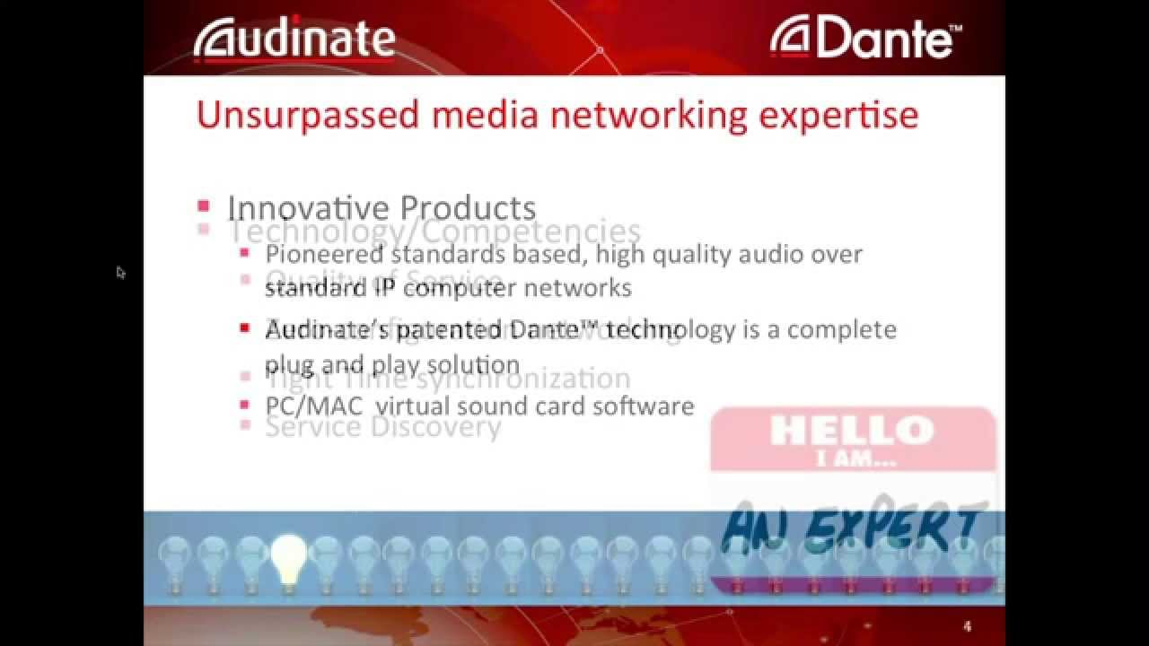 Dante: Symetrix and Audinate join forces to discuss Dante