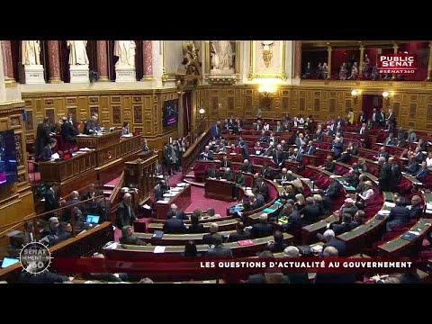 Les questions d'actualité au gouvernement / Audition de nicole belloubet... - Sénat 360 (01/02/2018)