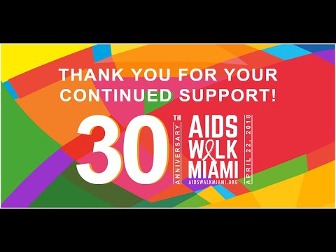 Thank you for joining AIDS Walk Miami 2018!