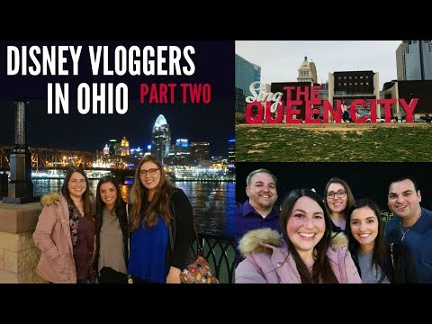 OHIO TRIP: Exploring Downtown Cincinnati with the DisneyDoubleDose and Happiest Vlogs! | PART TWO!