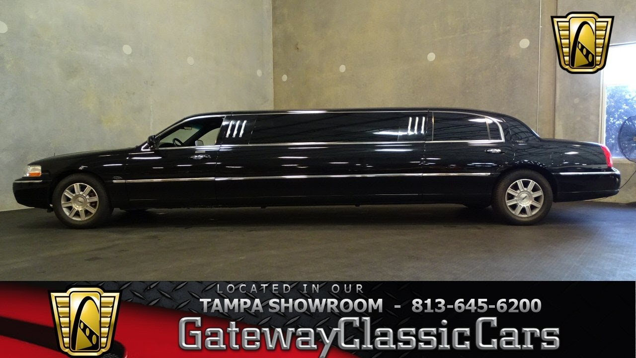 701 Tpa 2007 Lincoln Town Car Executive 4 6l V8 Fi Sohc Automatic