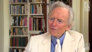 Author Tom Wolfe discusses his latest novel, Back to Blood