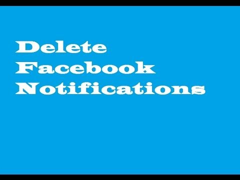 Delete facebook notifications youtube ccuart Image collections