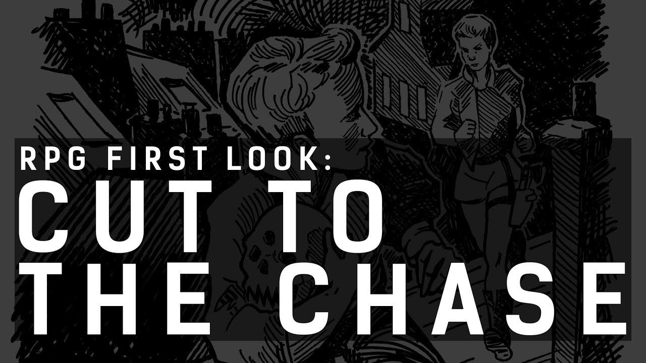 Cut to the Chase RPG: First Look w/ Bluejay