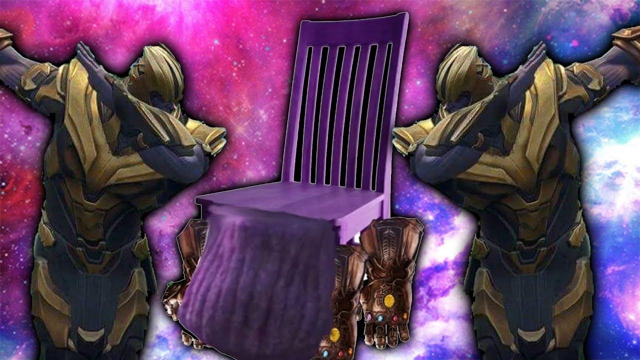I Made A Thanos Chair Youtube