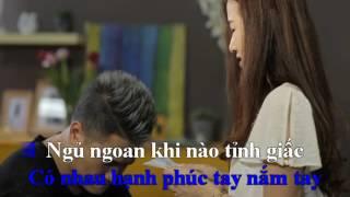 KARAOKE Chúc Vợ Ngủ Ngon Vũ Duy Khánh Beat Gốc