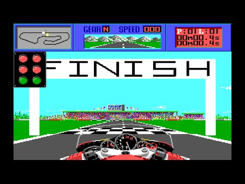 THE CYCLES: International Grand Prix Racing (PC/DOS) 1989, Accolade