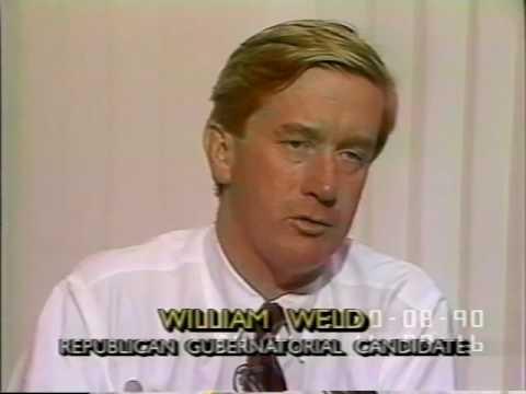 Gov. William Weld C-Span Interview 10/8/1990