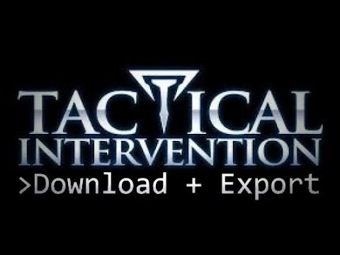 ~ Export assets from 'Tactical Intervention'