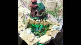видео Фонтан, аквариум или водопад: что выбрать для дома