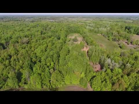 Drone Video Of Mayville (Michigan) Property - 75 Acres