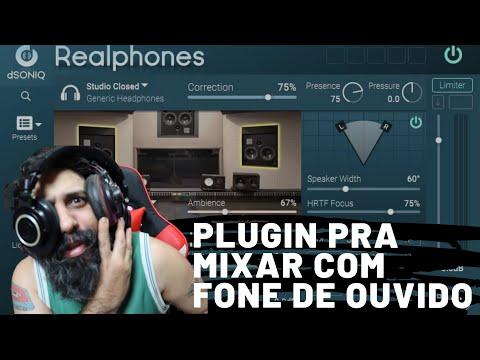 dSONIQ Realphones Mixagem com Fones de Ouvido