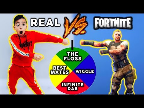 FORTNITE Dance Challenge IN PUBLIC (In Real Life)   The Royalty Family