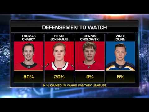NHL Now:  Pete Jensen  on waiver wire goalies, notable line trends  Oct 9,  2018